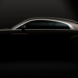 Rolls Royce Wraith: First Official Image