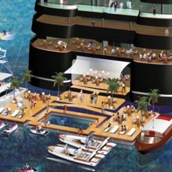 Най-голямата супер яхта в света ще бъде 220 м