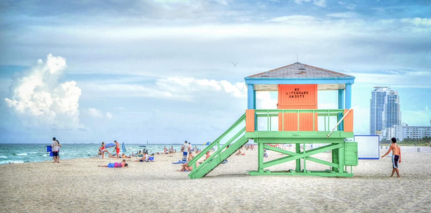 Флорида, плаж, лято