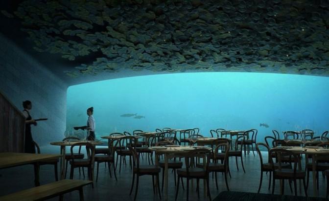 Три месеца до откриването на първия подводен ресторант в Европа