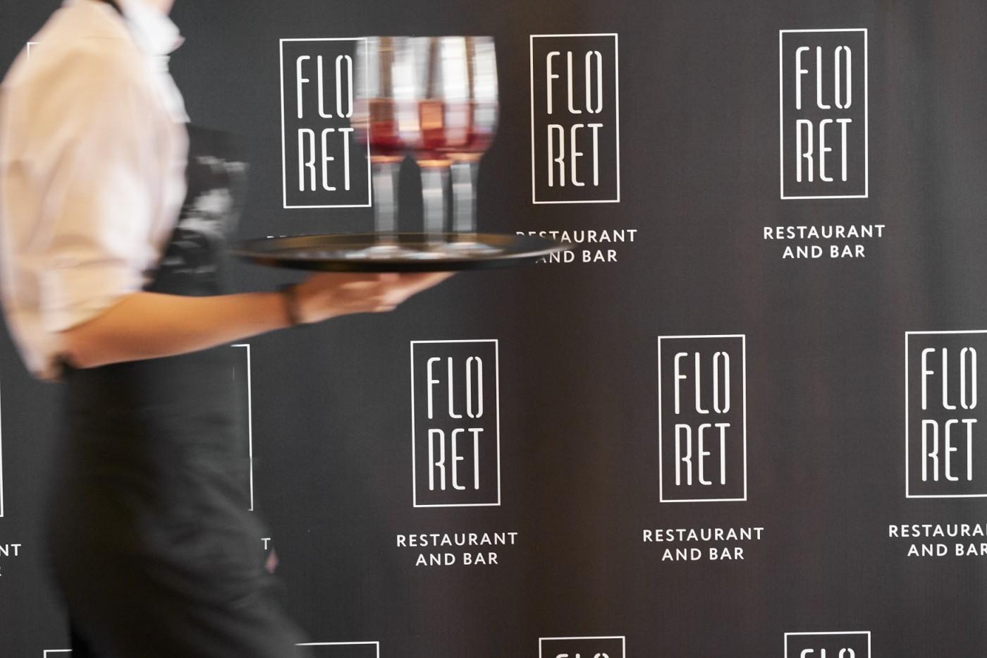 Ресторант храна заведение Floret Intercontinental hotel