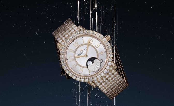 Лунните фази, хванати в часовник