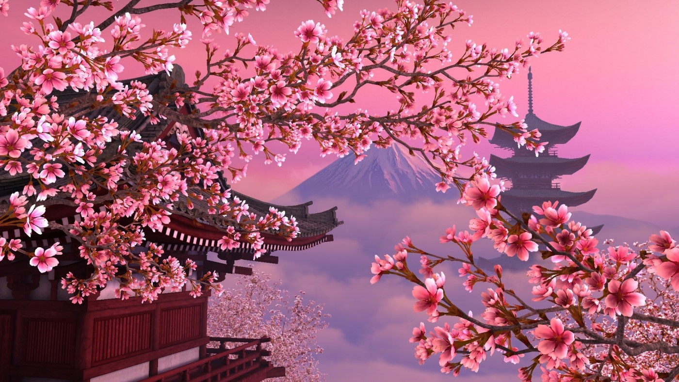 В Япония магията, наречена сакура, продължава от края на март чак до май