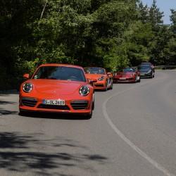 Porsche Road Tour Bulgaria: емоции като на кино