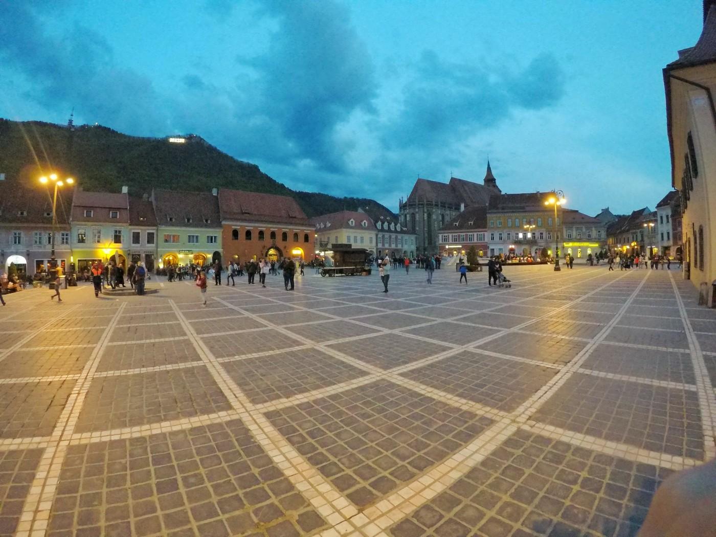 брашов румъния площад