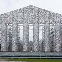 Партенон от 100 000 забранени книги се извисява в Германия - 3
