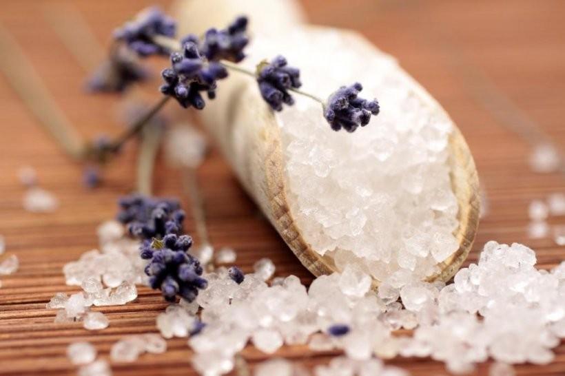 соли от мъртво море домашна козметика