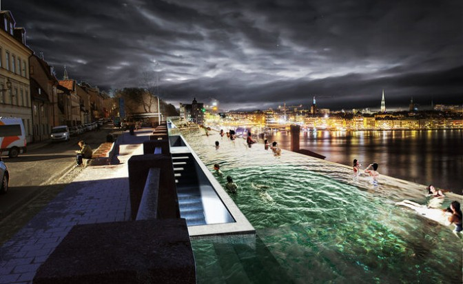 """""""Сливат"""" Стокхолм и Балтийско море с безкраен басейн"""