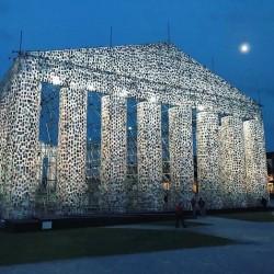 Партенон от 100 000 забранени книги се извисява в Германия