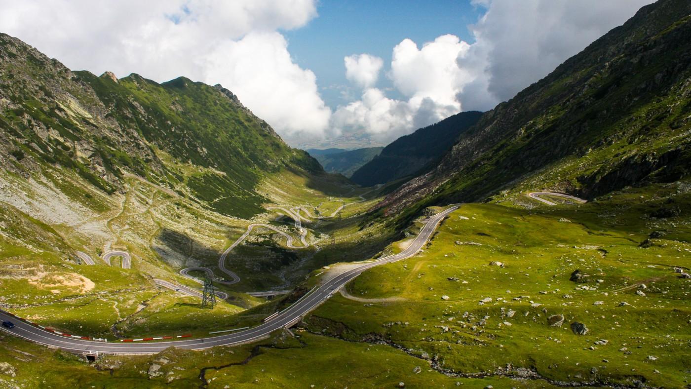 път трансилвания румъния планина
