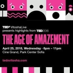 TEDxVitoshaLive: The Аge of Amazement – изгубени в превода в търсене на вдъхновение