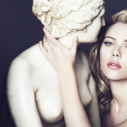 Scarlett Johansson in the new D&G cosmetics campaign