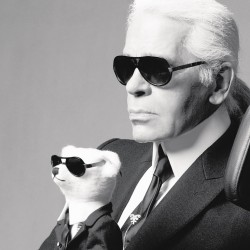 Karl Lagerfeld confirmed his real age - 1