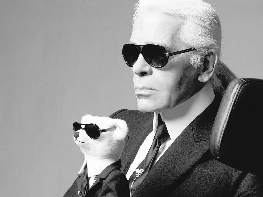 Karl Lagerfeld confirmed his real age