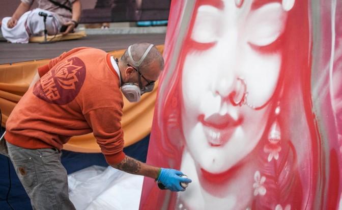 The Cool People: Nasimo, графити артист