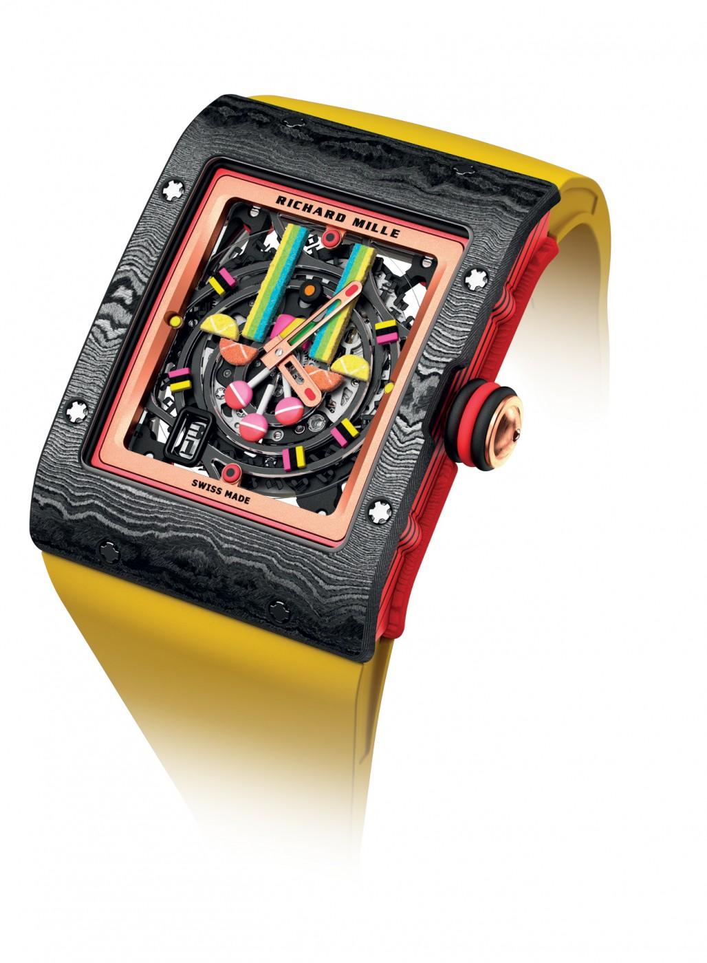 Richard Mille, часовник, каишка