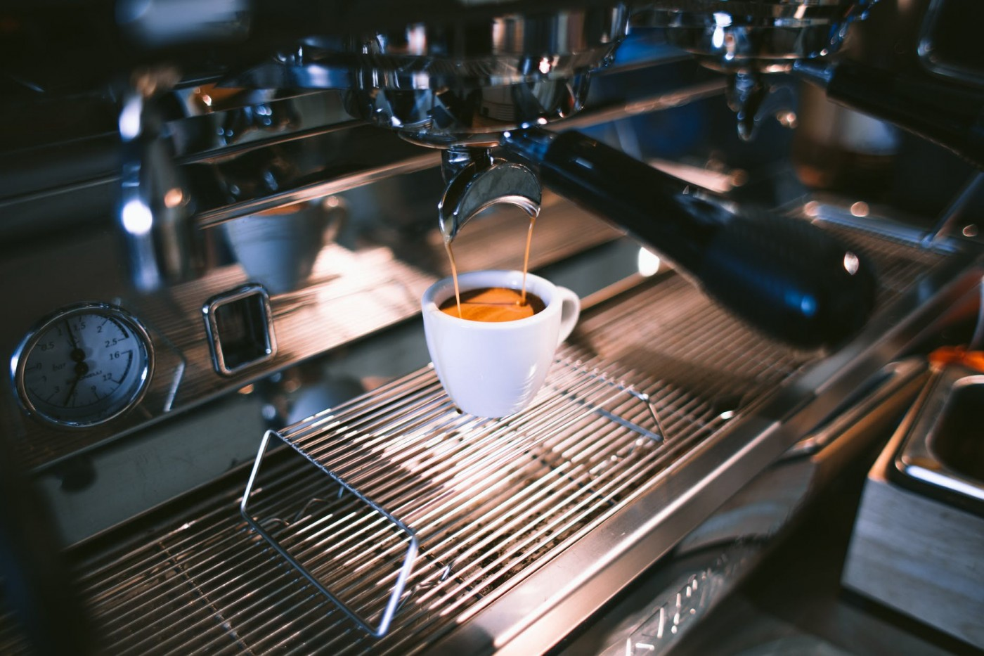 еспресо кафе зърна чаша