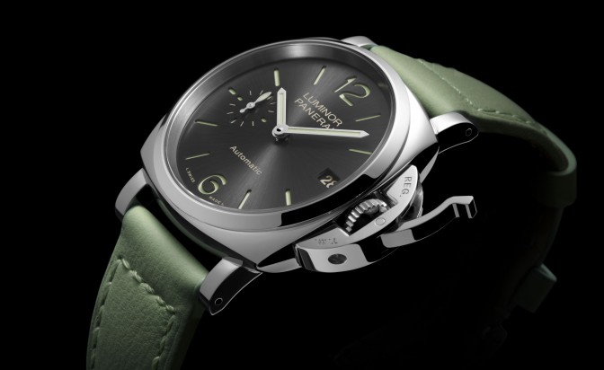 Luminor Due for the first time with 38 mm dial