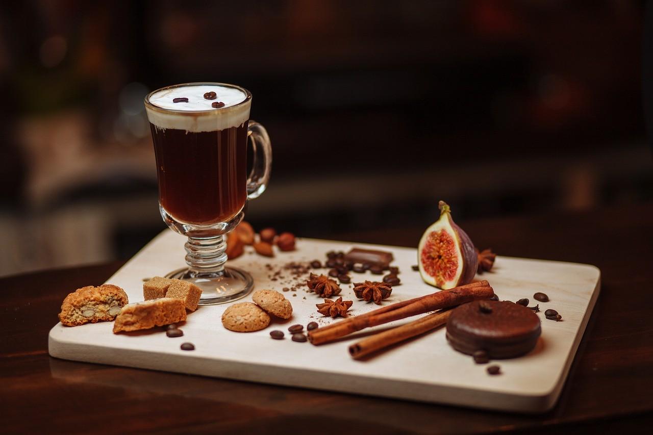 ирландско кафе зърна чаша