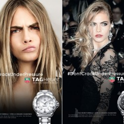 Tag Heuer избра Кара Делевин - 4