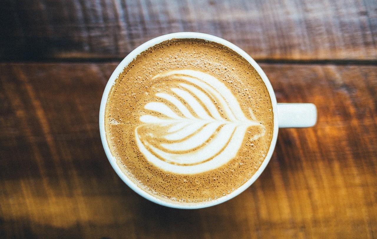 капучино кафе зърна чаша
