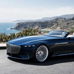 В ерата на свръхлуксозните коли: Vision Mercedes-Maybach 6 Cabriolet