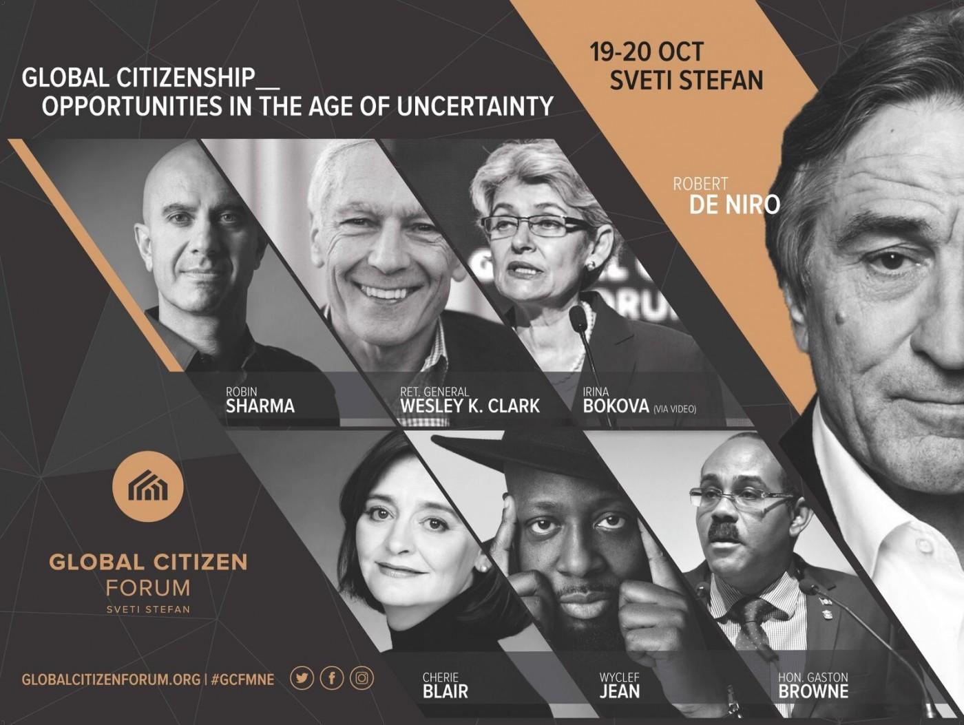 Световни лидери и звезди на Global Citizen Forum
