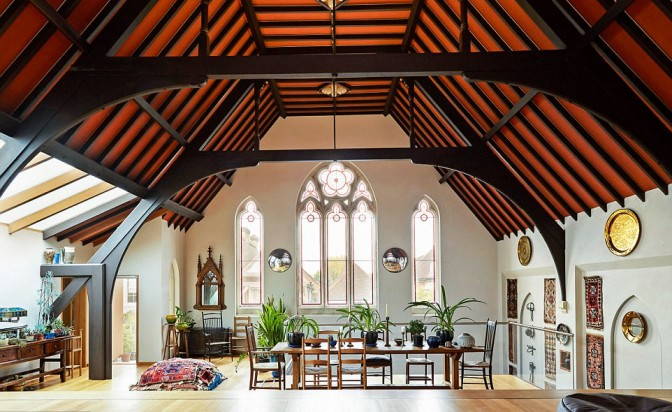 Божествени домове: съвременен интериор с история