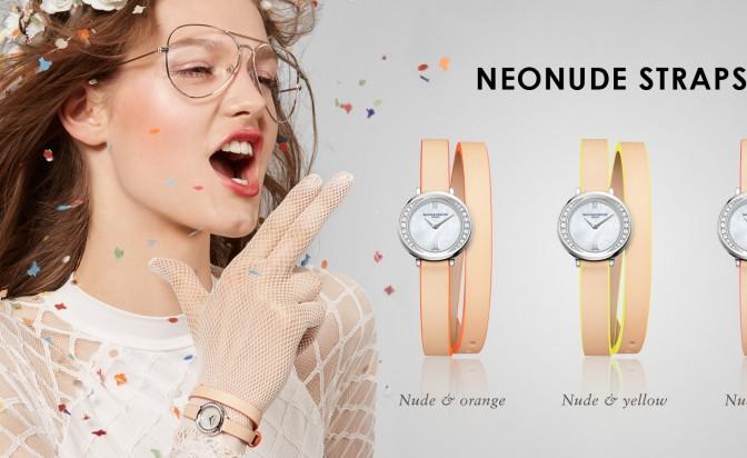 Енергични, летни, цветни: Neonude Straps на Baume&Mercier