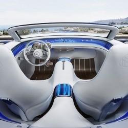 В ерата на свръхлуксозните коли: Vision Mercedes-Maybach 6 Cabriolet - 2