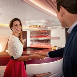 Светът е споделен с намаление -50% от Qatar Airways