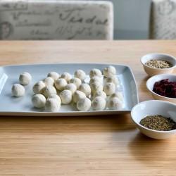 Рецепта за трюфели със сирене, кашкавал и извара - 4