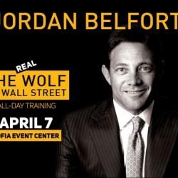 """""""The Wolf of Wall Street"""" - Jordan Belfort arrives in Sofia"""