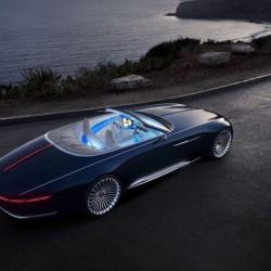 В ерата на свръхлуксозните коли: Vision Mercedes-Maybach 6 Cabriolet - 3